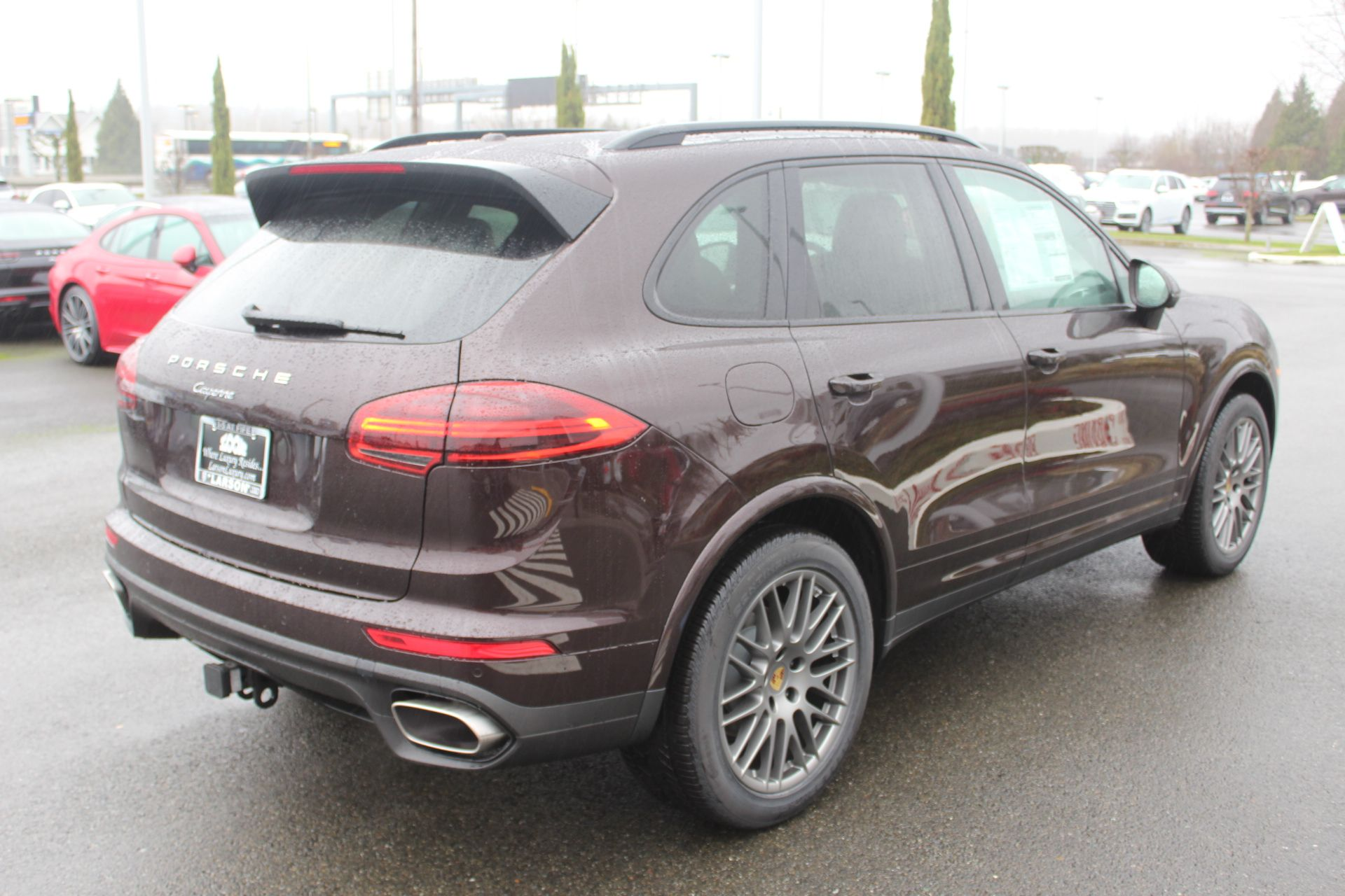 New 2018 Porsche Cayenne PLATED